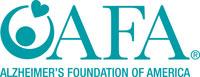 Alzeimer's Foundation of America Logo